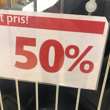 50% rea Ullared