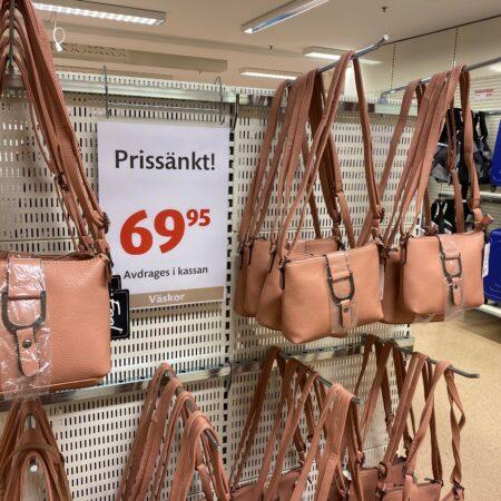 väskor Gekås Ullared blogg